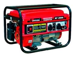 Бензиновый генератор БРИГАДИР БГ-2000