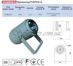 Прожектор металлогалогенный FYGT312-II