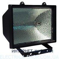 Прожектор под галогеновую лампу Delux 1000W цвет-черный IP54