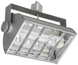Светильник трековый BRILUX VENTO S126, 1x26W, серебро арт. OT-VES126-73
