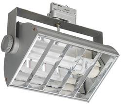 Светильник трековый BRILUX VENTO E126, 1x26W, серебро арт. OT-VEE126-73