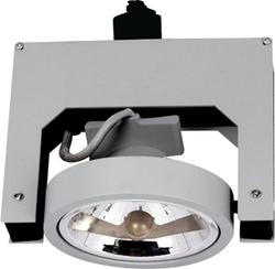 Светильник трековый BRILUX LUME E10H, G53, 50W, серебро арт. OT-LE10H5-73