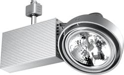 Светильник трековый BRILUX FUSIO E51H, G53, 50W, серебро арт. OT-FE51H5-73