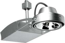 Светильник трековый BRILUX FUSIO E31H, G53, 50W, серебро арт.  OT-FE31H5-73